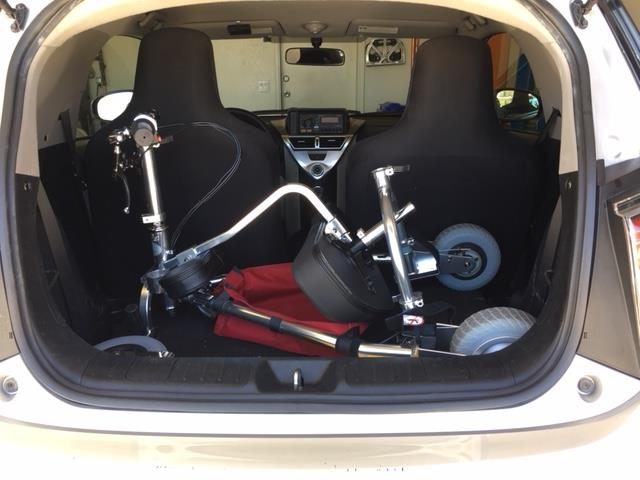 mobility scooter fits in the back of a car